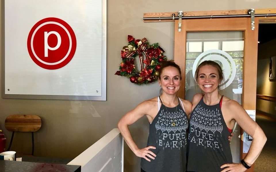 Meet Heather Robertson And Amy Wessner Of Pure Barre The Woodlands